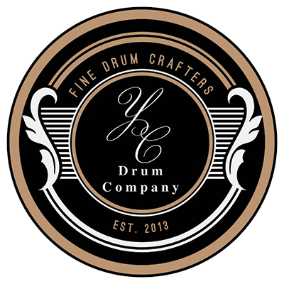 YC Drum Company Logo Badge