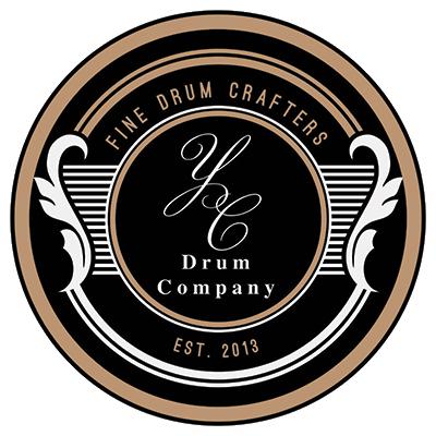 YC Drum Company Logo Badge